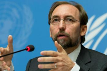 "UN High Commissioner for Human Rights Zeid Ra'ad Al Hussein warned of ""no significant improvement"" on official requests for access to Syria."