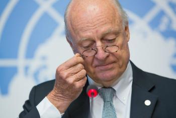 UN Special Envoy for Syria Staffan de Mistura.