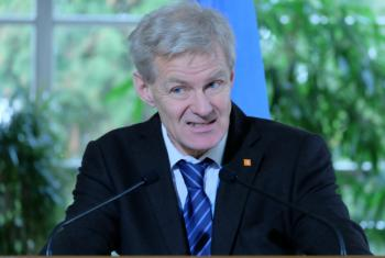 UN Special Adviser Jan Egeland in Geneva described fast-shifting front lines and called for a pause in fighting to allow aid access and evacuations.