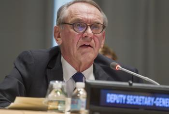 Deputy Secretary-General Jan Eliasson.