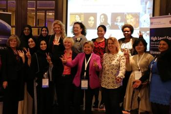 'Women in space breakfast', at the High-level United Nations forum, aimed at exploring the role of space in socio-economic and sustainable development. UN File Photo