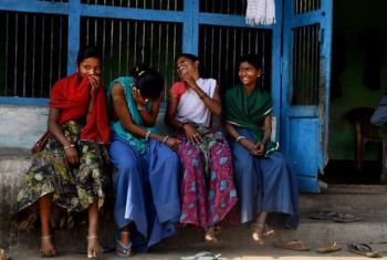 Adolescent girls in Udaipur, India: