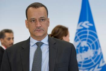 Ismail Ould Cheikh Ahmed, Special Envoy of the Secretary-General for Yemen.
