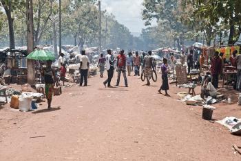 Internally displaced persons (IDPs) in Bambari, Central African Republic.