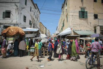 A street scene in Mogadishu, the Somali capital. File