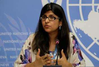 UN Human Rights Office spokesperson Ravina Shamdasani warned of ISIL terrorists using civilians as human shields in eastern Mosul.