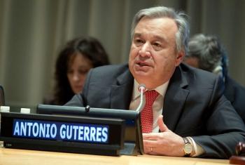 António Guterres, UN Secretary General.