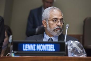 Assistant Secretary-General for Economic Development in the Department of Economic and Social Affairs Lenni Montiel.