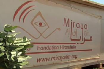 Radio Miraya. (Screen grab from UNifeed Video)