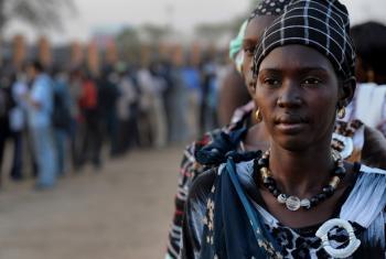 Women in South Sudan.