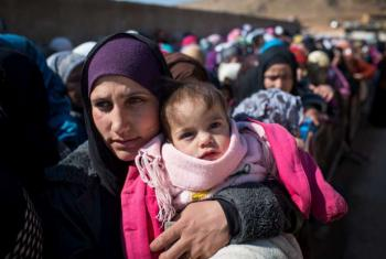 Syrian refugees in Lebanon. UNHCR/A.McConnell (file photo)