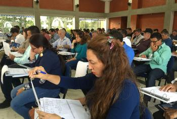 Colombia: Government, FARC-EP and UN Mission train 80 women and men to monitor and verify ceasefire. August 31, 2016.