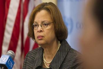 Secretary General's Special Representative for Haiti, Sandra Honoré.