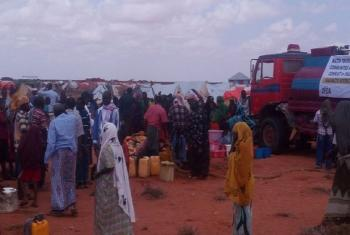 Humanitarian partners in Somalia scaling up response to displaced people after violence broke out in Gaalkacyo on 7 October 2016.