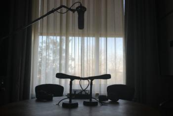 Studio 1 at the UN Palais des Nations in Geneva.