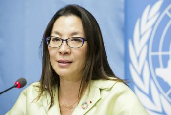Actress and UN Goodwill Ambassador Michelle Yeoh said that short films had the power to move people to improve road safety.