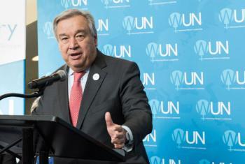 Secretary-General António Guterres.