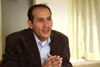 Abdel Moein. (Screen grab from UNifeed video)