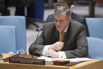 UN Special Representative in Iraq Ján Kubiš at Security Council meeting on the situation concerning Iraq.