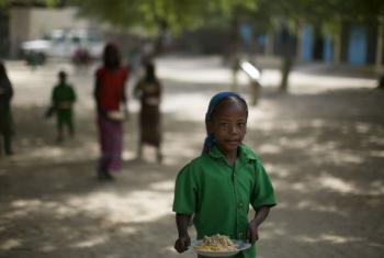 Chad suffers from chronic food insecurity. WFP is working to provide hot meals for school children.