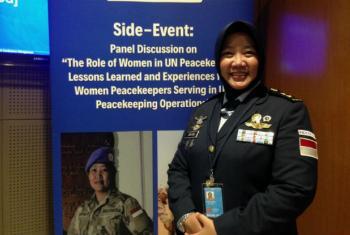 Lieutenant Colonel Ratih Pusparini.