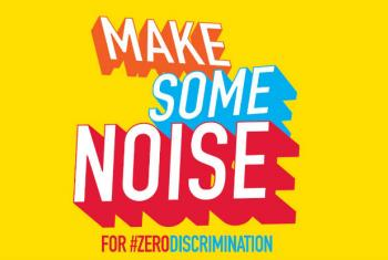This year, on 1 March, Zero Discrimination Day, UNAIDS is urging people to make some noise around zero discrimination, to speak up and prevent discrimination from standing in the way of achieving ambitions, goals and dreams. Image: Poster #ZERODISCRIMINAT