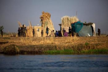 A family compound in Terekeka, South Sudan.