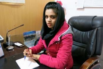 Meena Mostayed, head of Radio Sana.