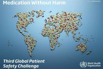 WHO launched its Medication Safety Challenge to reduce medication-related harm by 50% over 5 years.