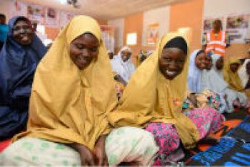 UNFPA is working to restore access to reproductive health care for about 4.5 million crisis-affected people in Nigeria. © UNFPA Nigeria