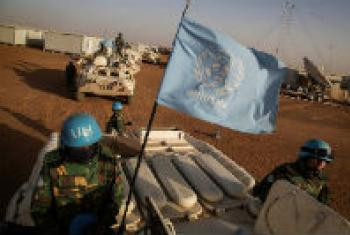 UN Peacekeepers in Mali.