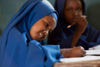 A female school student in Somalia. © UNICEF Somalia/2015/Rich