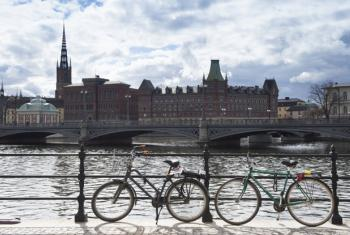 A view from Stockholm City Hall.