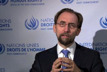 UN High Commissioner for Human Rights Zeid Ra'ad Al-Hussein.