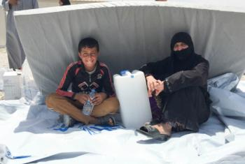 The UN Refugee Agency has opened a twelfth camp for civilians displaced by fighting in the northern Iraqi city of Mosul.