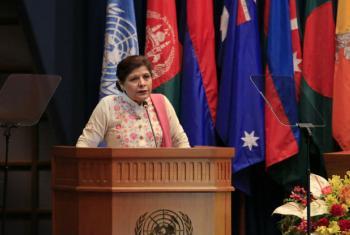 ESCAP Executive Secretary, Shamshad Akhtar.