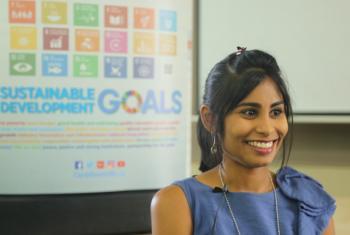 Rissa Edoo of the UN Development Programme in Trinidad and Tobago.