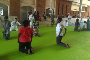The UNMISS Japanese engineering contingent has been praised for teaching self-defense skills to South Sudanese women.
