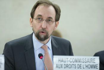 """Zeid Ra'ad Al Hussein said he and his office """"were holding up a mirror"""" to violations."""