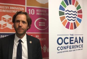 Douglas McCauley.UN News/Matthew Wells