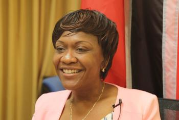 Neila Bobb Prescott, Chief Technical Advisor for the GEF-Funded Project on Improving Forest and Protective Area Management in Trinidad and Tobago.
