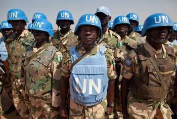 UNAMID Nigerian peacekeepers. (file photo)