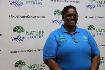 Suzan Lakhan Baptiste of Nature Seekers in Trinidad and Tobago.