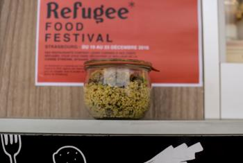 Refugee Food Festival in Strasbourg in 2016. © UNHCR / B. Loyseau