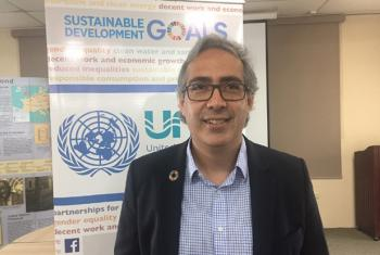 Juan Miguel Diez, Director of the UN Information Centre (UNIC) for the Caribbean Area.