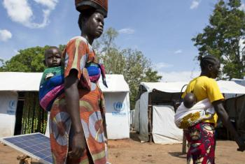 The UN Refugee Agency (UNHCR) and partners opened a new settlement area in Arua district, northern Uganda, in February 2017, to host thousands of refugees arriving from South Sudan.