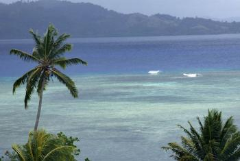 Rabi Island, Fiji. Rising sea levels and more extreme weather events pose an imminent threat to low-lying atoll islands across the Pacific. File