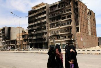 Tripoli Street in Misrata, Libya.