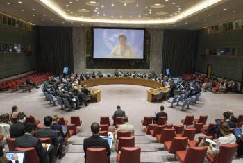 UN Security Council briefing.