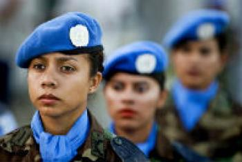 Members of the Guatemalan contingent of MINUSTAH.